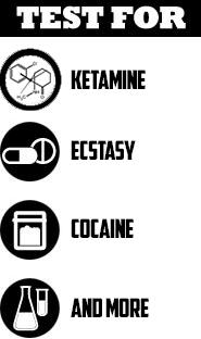 Ez Test for Ketamine, Cocaine, Ecstasy and more