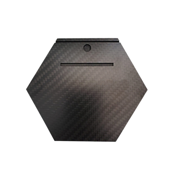Mini 100% Carbon Fibre Plate (Plate only)