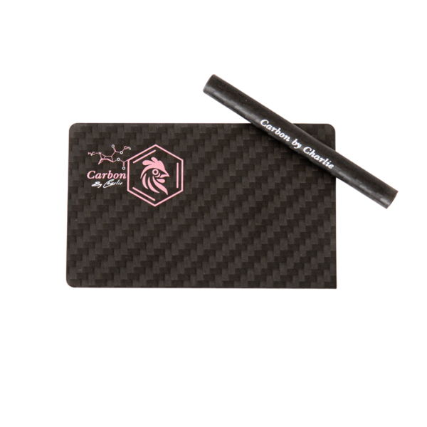 carbon by charlie card straw