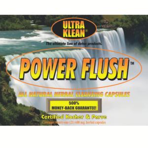 Power Flush All Natural Herbal Capsules