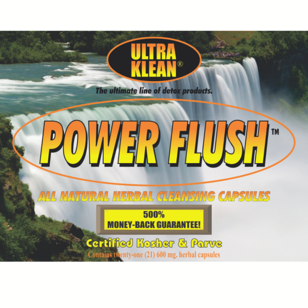 Power Flush All Natural Herbal Capsules