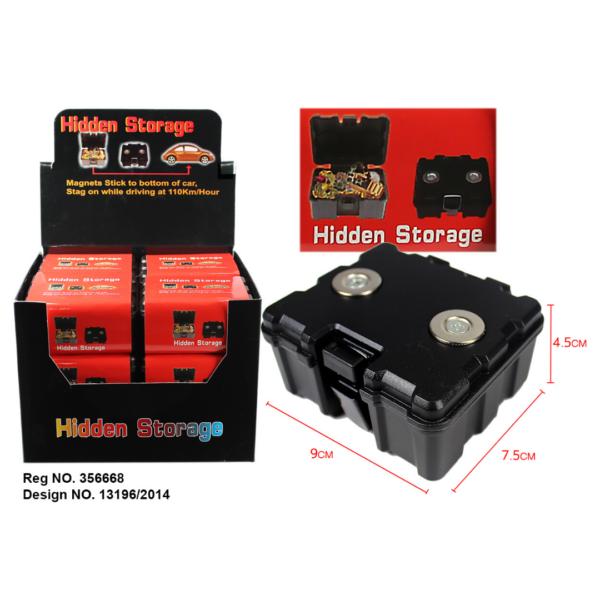 Magnetic Hidden Storage Box