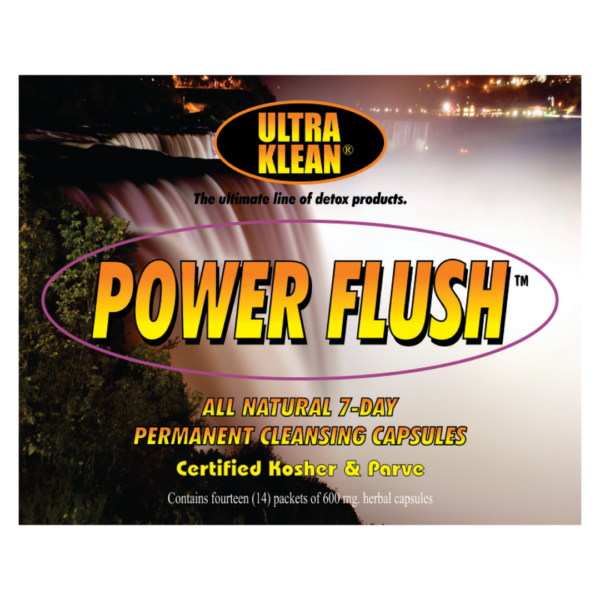 VALUE PACK: 2x Ultra Klean Power Flush - 7day permanent cleansing capsules
