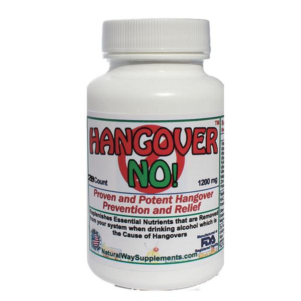 Hangover-No! - Prevention and Relief of Hangover Symptoms