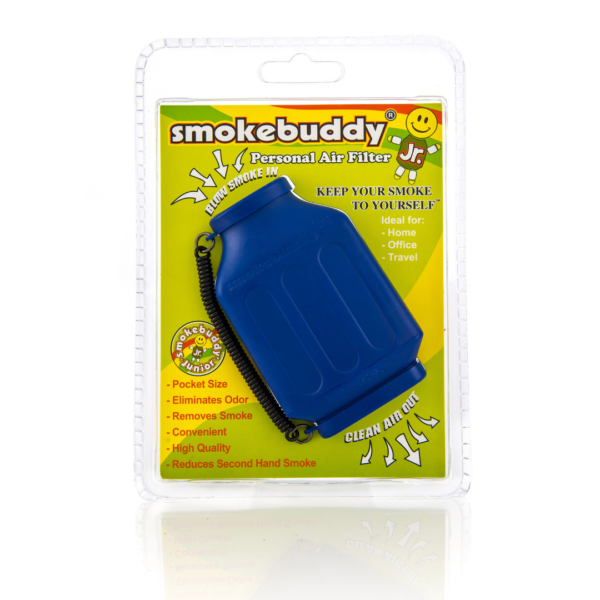 Blue Smokebuddy Junior Personal Air Filter