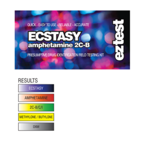 EZ Test Ecstasy Test Kit for MDMA / Methamphetamine / Molly
