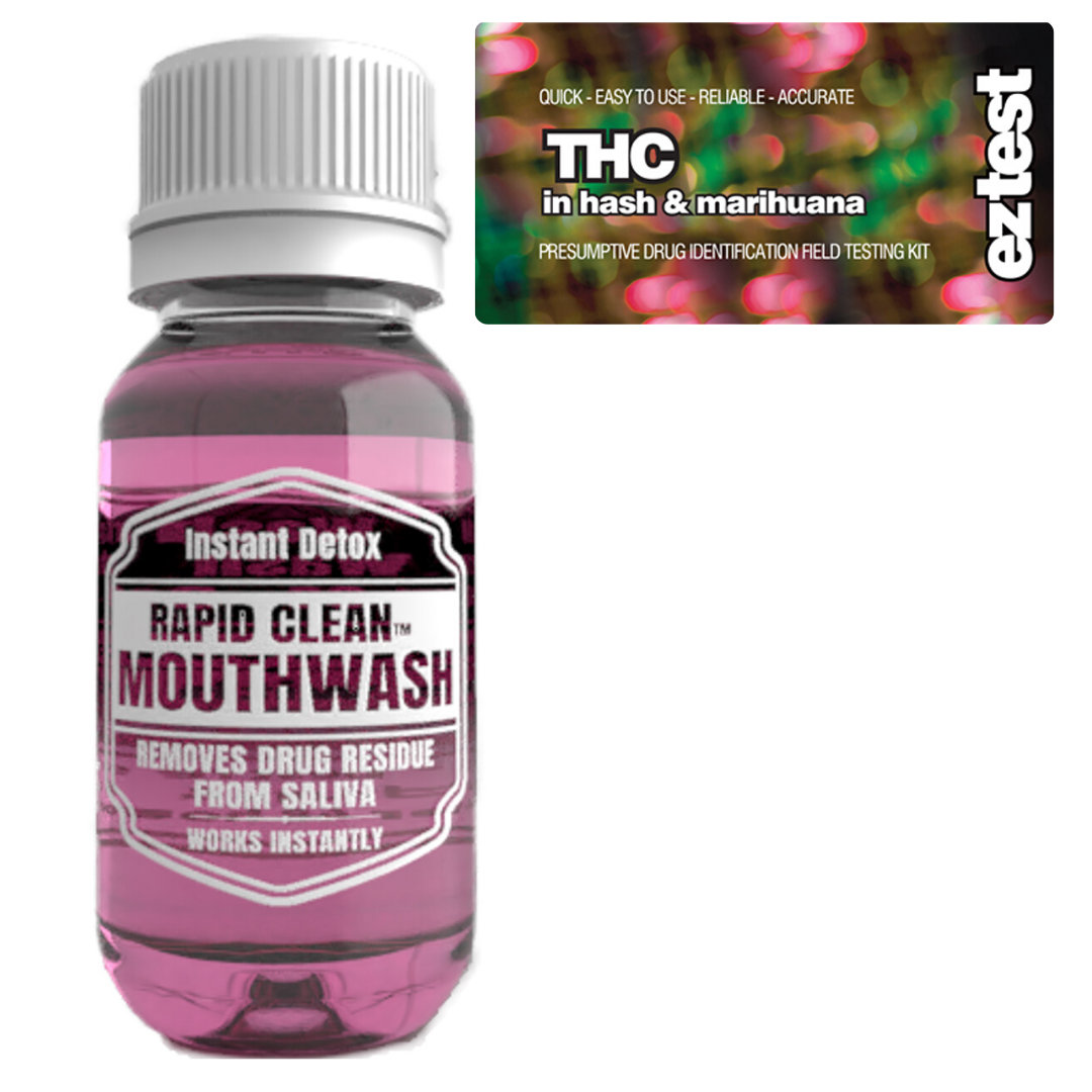 THC w/ Rapid Clean Mouthwash