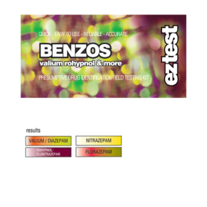 BENZOS: EZ Test Tube for Benzodiazepines, Valium, Rohypnol