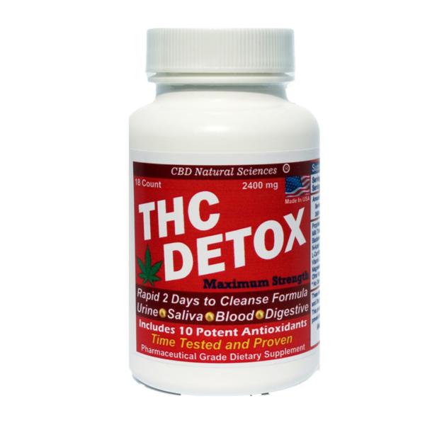 THC Detox Capsules