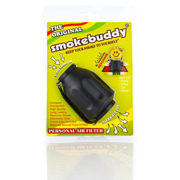 Black Smokebuddy Original Personal Air Filter