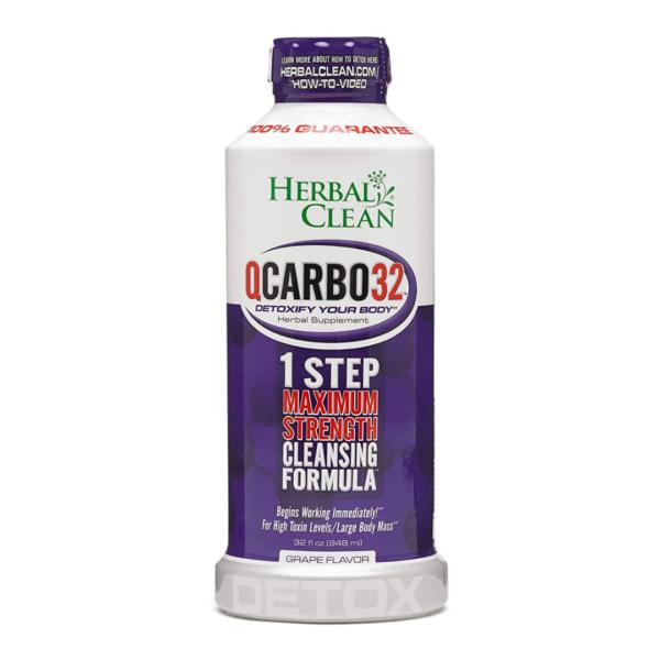 Herbal Clean QCarbo32 Detox Drink