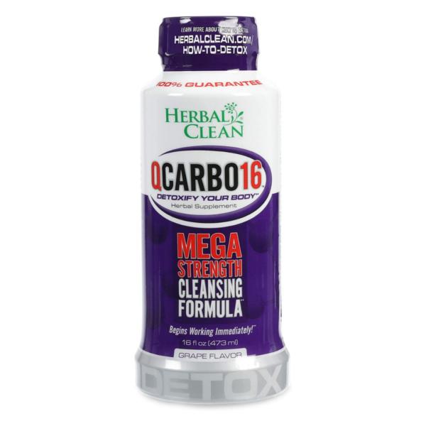 Herbal Clean QCarbo16 Detox Drink (16oz/473ml)