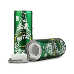 Perrier Diversion Stash Safe Can