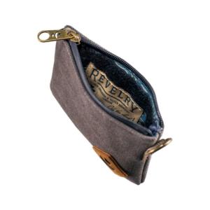 Revelry The Mini Broker Zippered Smell Proof Money Bag