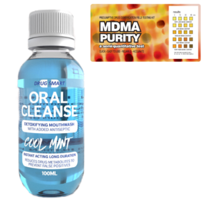 MDMA Purity w/ Oral Cleanse Mouthwash