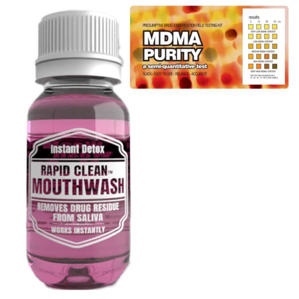 MDMA Purity w/ Rapid Clean Mouthwash
