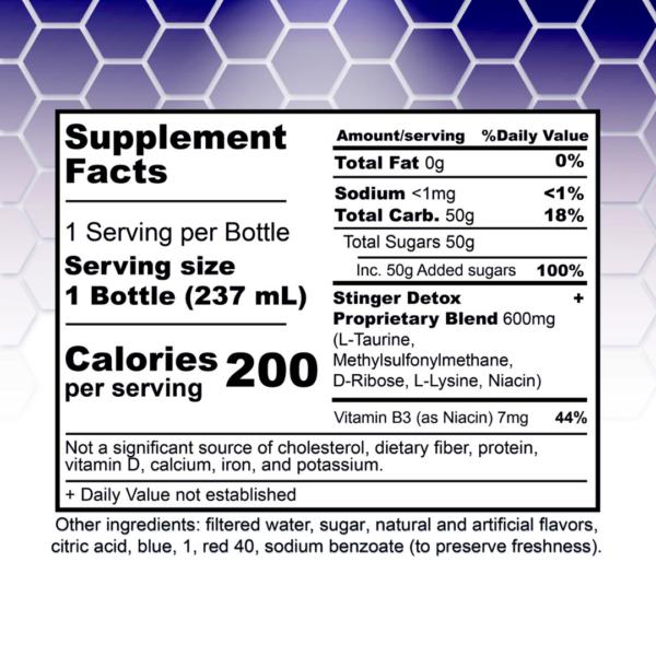 Stinger Buzz 5X Extra Strength Detox Liquid - Grape