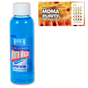 MDMA Purity w/ Saliva Cleansing Mouthwash