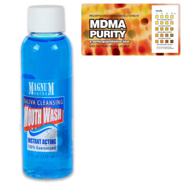 MDMA Purity w/ Saliva Cleansing Mouthwash