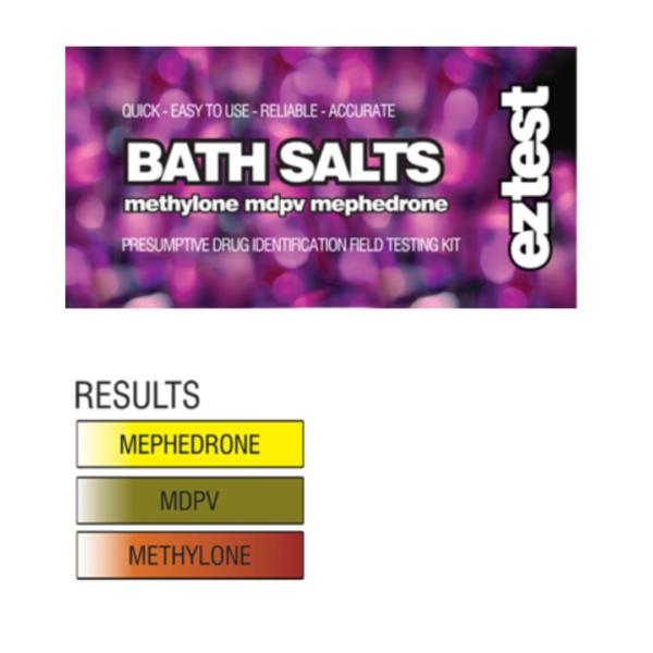 EZ Test Tube for Bath Salts mephedrone/methylone/MDPV