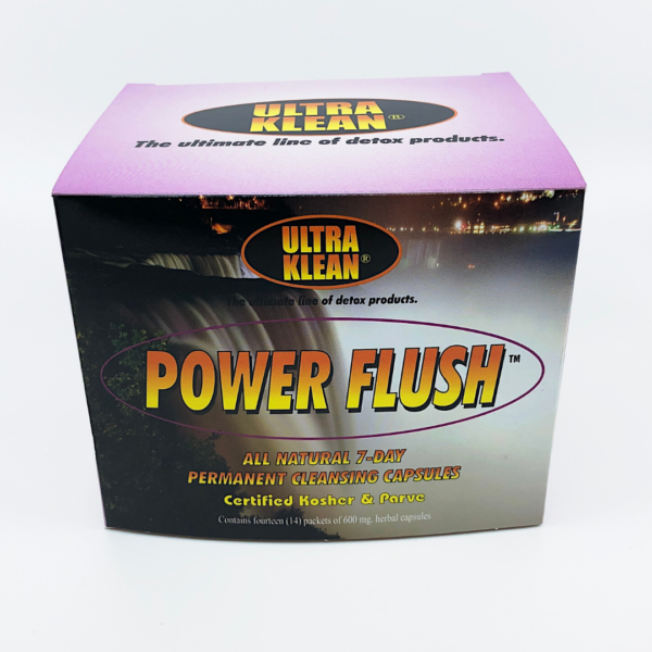Ultra Klean Power Flush - 7day permanent cleansing capsules