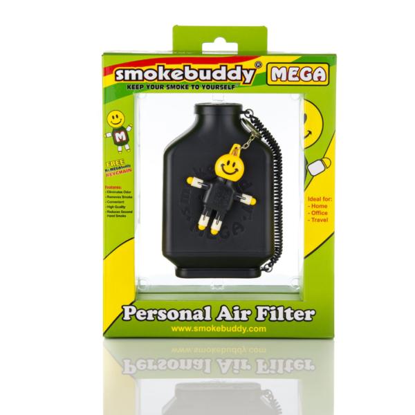 Black Smokebuddy MEGA Personal Air Filter
