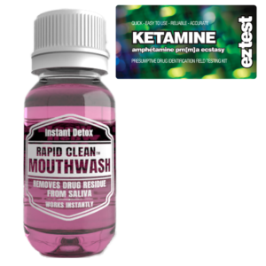 Ketamine w/ Rapid Clean Mouthwash