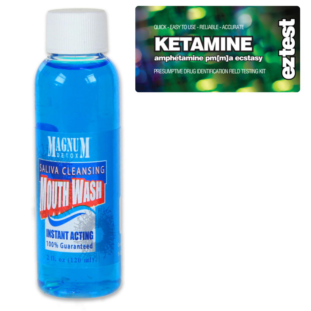 Ketamine w/ Saliva Cleansing Mouthwash