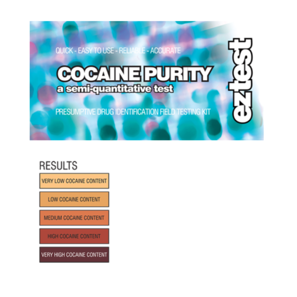 EZ Test Cocaine Purity Test Kit