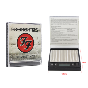 Digital Weight Scale – Foo Fighters CD (0.01g/200g) - WD169A