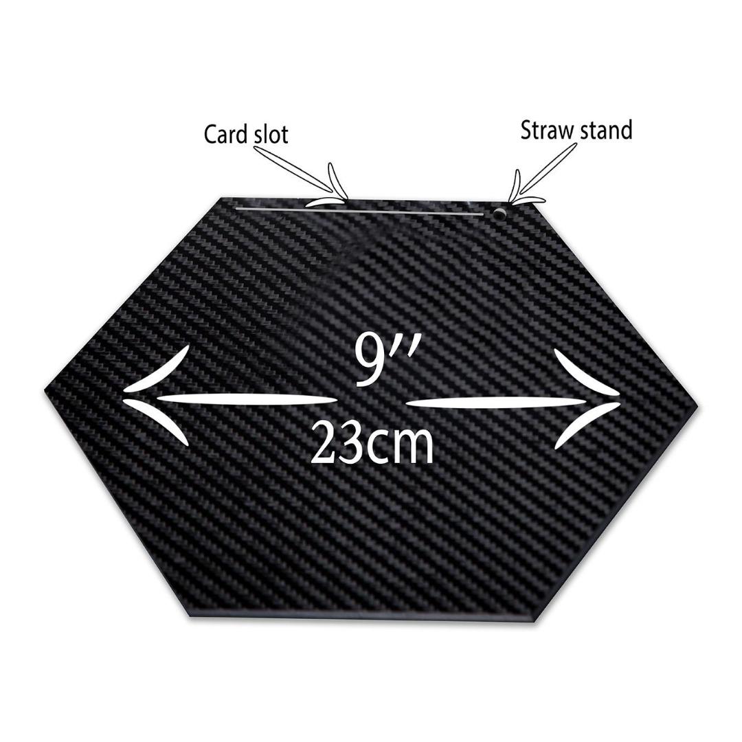 XL 100% Carbon Fibre Plate (Plate only)