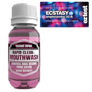 Ecstasy w/ Rapid Clean Mouthwash