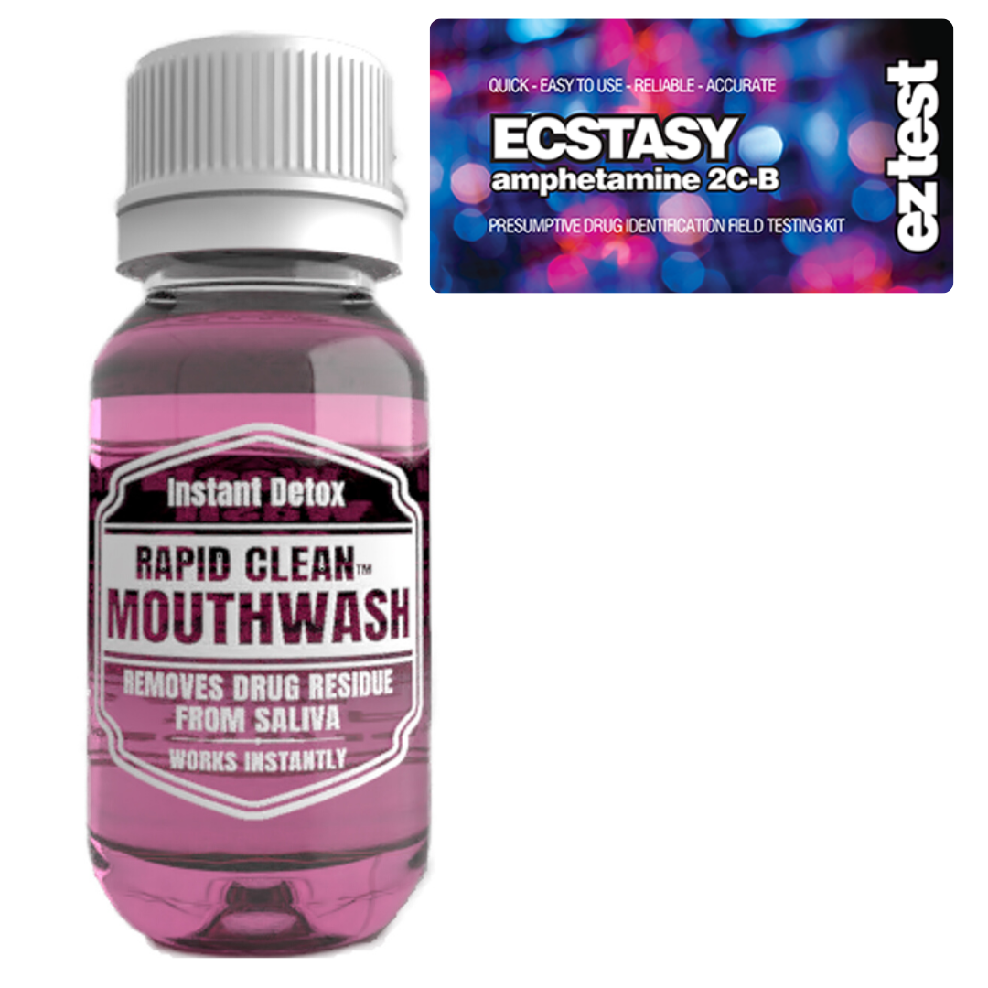 Ecstasy w/ Rapid Clean Mouthwash