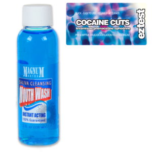 Cocaine Cuts w/ Saliva Cleansing Mouthwash