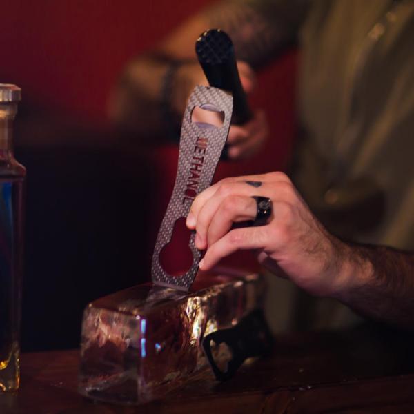 Carbon Fibre Speed Bottle Opener & Ice Chisel