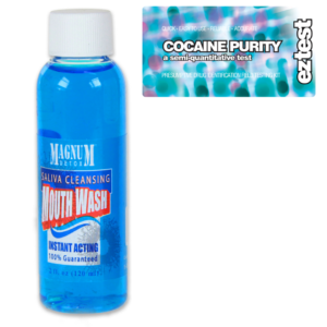 Cocaine Purity w/ Saliva Cleansing Mouthwash