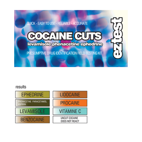 EZ Test Tube for Adulterated Cocaine (Cuts)