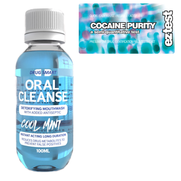 Cocaine Purity w/ Oral Cleanse Mouthwash