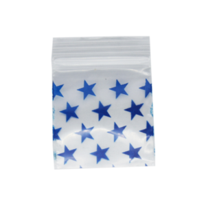 Original Apple Mini Ziplock Bags – Stars Bag (32mm x 32mm) x100