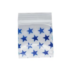Original Apple Mini Ziplock Bags – Stars Bag (32mm x 32mm) x100