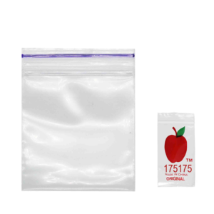 Original Apple Mini Ziplock Bags – Clear (44mm x 44mm) x100