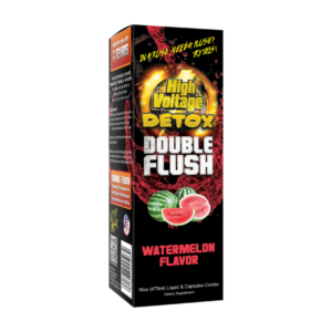 High Voltage Double Flush Liquid & Capsules Combo (16oz/473ml) – Watermelon Flavour