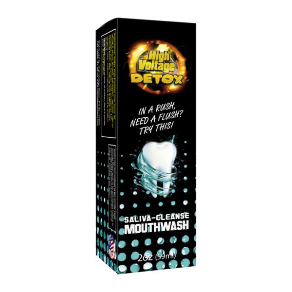 High Voltage Saliva Cleanse Detox Mouthwash (2oz/60ml)