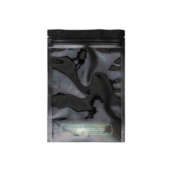 Mylar Smell Proof Bag – Black 3.5gram (10 pack)