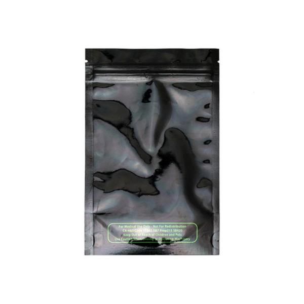 Mylar Smell Proof Bag – Black 7gram (10 pack)