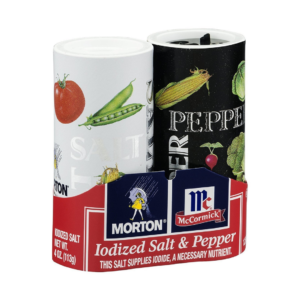 Mc Cormick Salt & Pepper Hidden Compartment Safe Cans