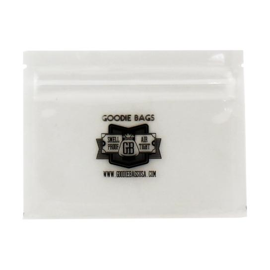 "Goodie Bags Smellproof Ziplock Bags - Small Clear (4""x3"") x10"