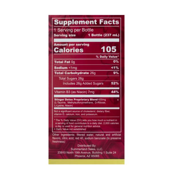 Stinger Instant Detox Regular Strength - Strawberry