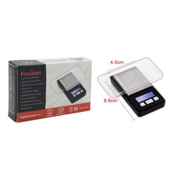 Digital Weight Scale - Precision Digital Mini Scale (0.01g/100g) - WD 170