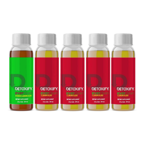 Detoxify Ever Clean 5 Day Toxin Cleansing Program – Honey Tea Flavour